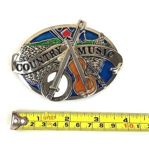 Other - Country Music Belt Buckle Western Cowboy